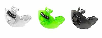 NEW Shock Doctor Adult Max Air Flow Lip Mouth Guard Convertible Football Rugby