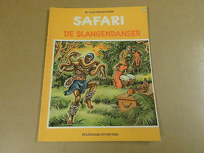 Strip 1° Druk / Safari N° 6 - De Slangendanser