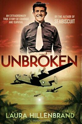 Unbroken by Hillenbrand, Laura Hardback Book The Cheap Fast Free Post