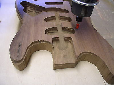 Instrument Duplicating Machine- Carve Guitar Bodies, Cello Necks, Anything!