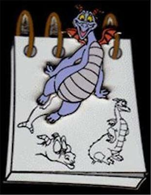 Figment- From The Sketchpad 2014 Disney Pin 3D