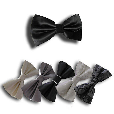 MEN'S BOW TIES Pre-tied Bowties for Wedding, Formal, Tuxedo Mens Pretied
