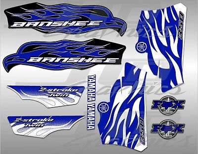 yamaha banshee full graphics kit