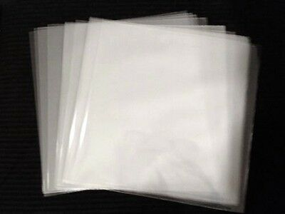 """20 LP Record Outer Sleeves 3 Mil Clear Poly 33 rpm 12"""" Vinyl Album Jacket Cover"""