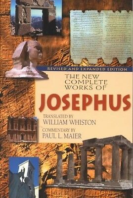 The New Complete Works of Josephus by Flavius Josephus Paperback Book (English)