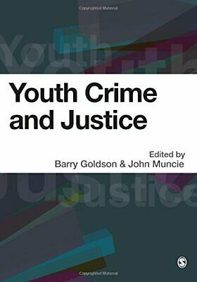 Youth Crime and Justice by John Muncie Paperback Book The Cheap Fast Free Post