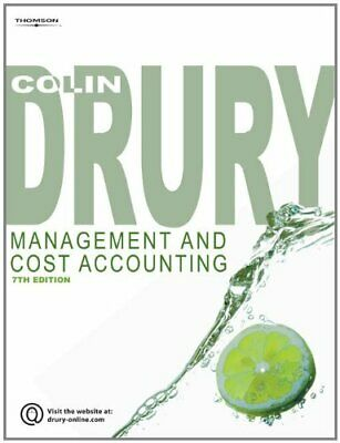 Management and Cost Accounting by Colin Drury Paperback Book The Cheap Fast Free