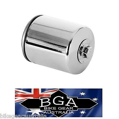 OIL FILTER KN-170c CHROME Suit HARLEY ** SEE LISTING for HARLEY MODELS **