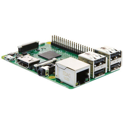 Raspberry Pi 3 Model B 1GB Quad Core 1.2GHz 64bit CPU WiFi & Bluetooth HDMI RCA