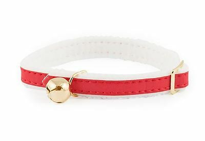 Ancol Reflective Cat Collar Red Elasticated
