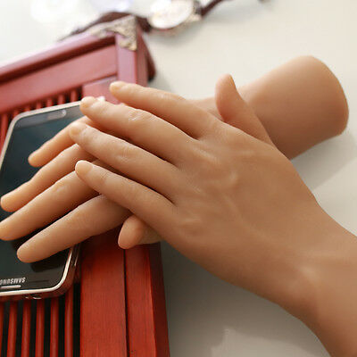 1 Pair Hands Model Silicone Male Hand Model men man Hands Mannequin Showing