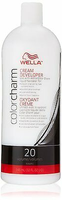 Wella Color Charm Cream Developer 20 Volume 946ml**LARGE SALON SIZE**