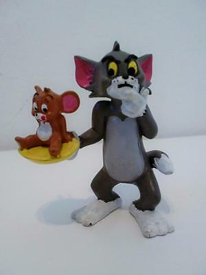 Vintage Hanna Barbera Tom & Jerry PVC Toy Figure Cake Topper 1980s