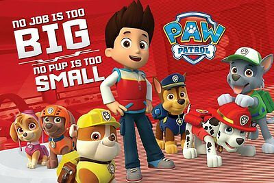 PAW PATROL (NO PUP IS TOO SMALL) - Maxi Poster 61cm x 91.5cm PP33835 - 733