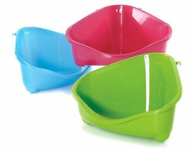 Clean N Tidy Corner Toilet Litter Mini Pan For Rabbits Guinea Pigs & Rodents Pe