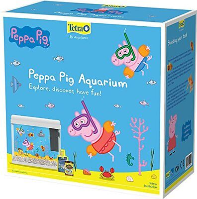 Tetra Peppa Pig Aquarium Tanks White Pet Supplies Coldwater Fish Starter Tank N