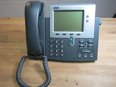 USED Cisco IP Phone 7900 Series CP-7941G 7941 Telephone