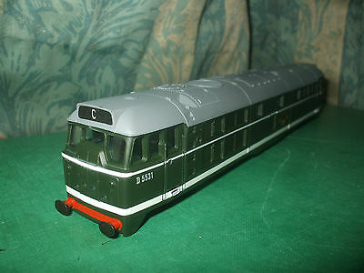 Airfix Br Class 31 Green Loco Body Only