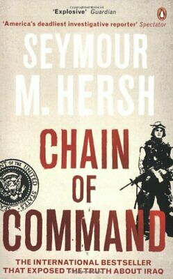 Chain of Command by Hersh, Seymour M. Paperback Book The Cheap Fast Free Post
