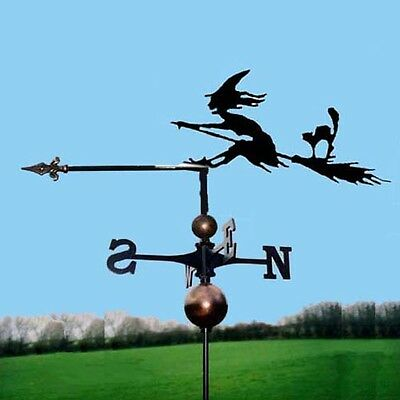 The Olde Witch Weathervane - Handmade  - Very High Quality