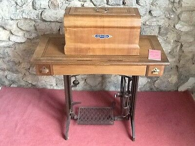 Ancienne machine coudre navette vibrante perlios eur for Machine a coudre 69