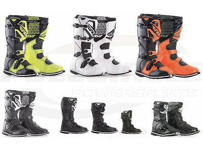 Fly Racing MX Riding Boots Adult, Youth, Kids Sizes Motocross Dirt Bike ATV