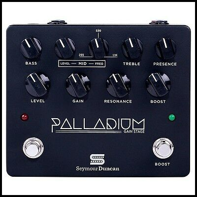Seymour Duncan Palladium Gain Stage Guitar Effects Pedal - Black 1900-009B