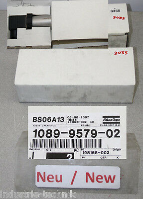 Atlas Copco 1089-9579-02 Press Transducer BS06A13, 198168-002 Transduce Press