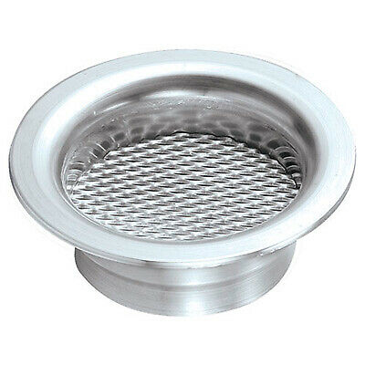 Revotec Aluminium Air Inlet Gauze Insert - Fits 63mm Air Inlet - In Silver