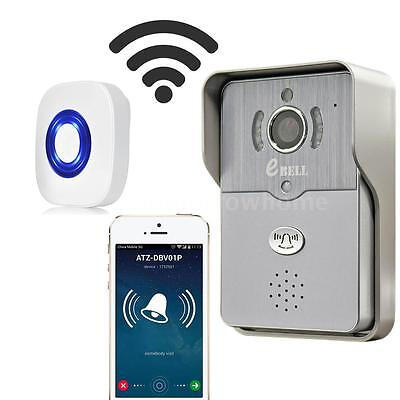 EBELL Wireless Smart Door Bell Remote-control IP Video For iPhone Android H8W7