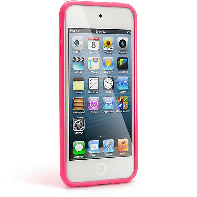 Pink TPU Skin Gel Case for Apple iPod Touch 6th 5th Generation itouch Cover