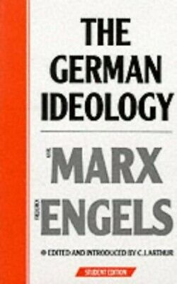 The German Ideology: Introduction to a Critiqu... by Engels, Friedrich Paperback