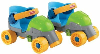 Fisher-Price Grow-With-Me 1,2,3 Roller Skates Training Sporting Goods Fitness