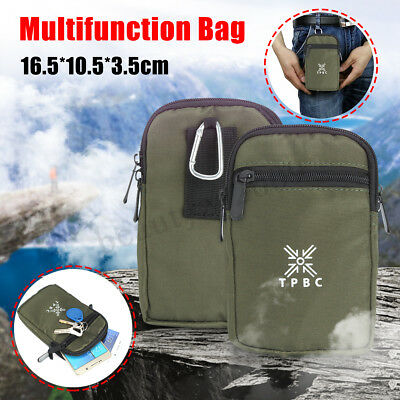 Military Tactical Molle Utility Hiking Fanny Pack Waist Belt Pouch Phone Bag