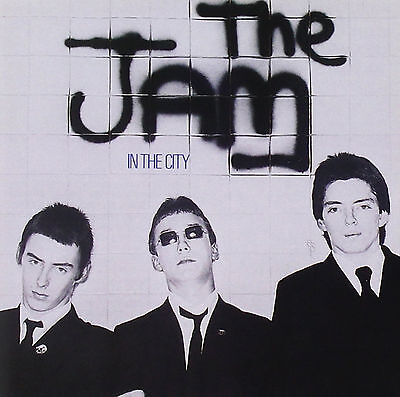 "THE JAM ..""In The City""..Retro Album Cover Poster Various Sizes"