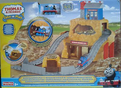 Fisher-Price Thomas and Friends Goldminen-Abenteuer Spielset OVP