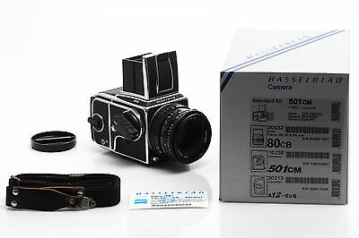 Hasselblad 501 C/M Outfit w. CB Planar 2.8/80mm T* & Magazine