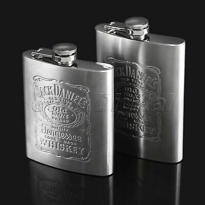 Stainless Steel Pocket Liquor Whiskey Alcohol Wine Flagon Bottle Hip Flasks Gift
