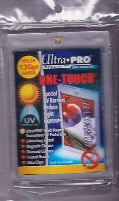 ULTRA PRO 130pt ONE-TOUCH MAGNETIC CARD HOLDER UV PROTECTION ULTRA CLEAR
