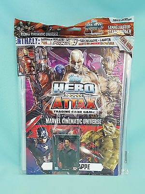 Topps Hero Attax Civil War 2016 Starterpack Sammelmappe Neu & OVP Marvel
