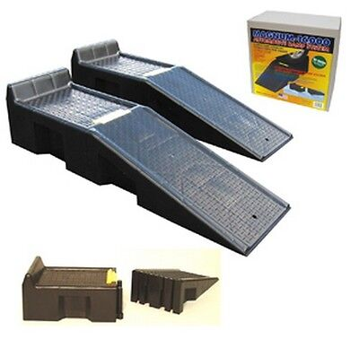 Magnum Automotive Group MG1002-01 Magnum 16 000 lb Automotive Ramp System, USA