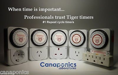 Repeat cycle timer 1 minute Hydroponic Aeroponic co2, EZcloner