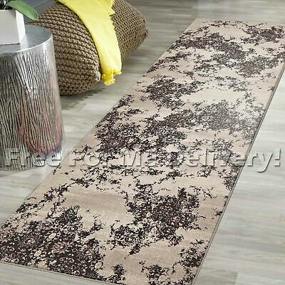 LEGACY VINTAGE STYLE BEIGE BROWN CLASSIC RUG RUNNER 80x300cm **FREE DELIVERY**