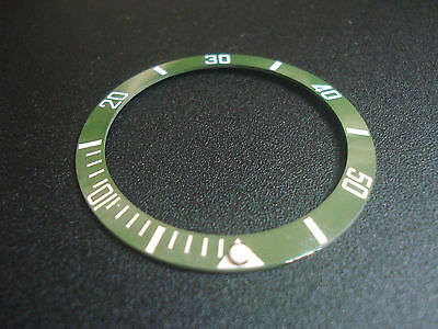 Bigger Green Ceramic Bezel Insert With White Numbers For New Submariner Watch