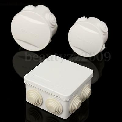 Waterproof Electronic Enclosure Project Junction Terminal Box Cover Outdoor IP55