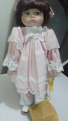 Vintage 1986 Laurey Doll by Seymour Mann Connoisseur Collection with Stand