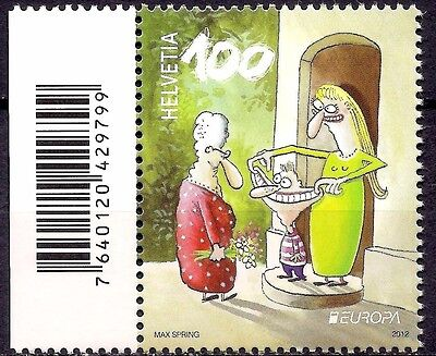 Switzerland 2012 Comics/Visiting Mother In Law/Animation Europa 1v MNH