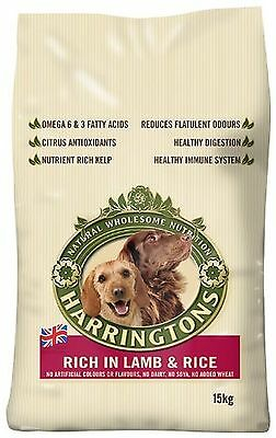 Harringtons Dog Food Complete Lamb and Rice Dry Mix 15kg