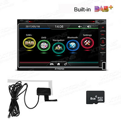 "Quad Core 1 DIN Radio 7"" Flip Out Android 4.4 Car Stereo DVD Player OBD2 DAB+"