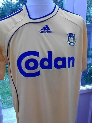 Brondby IF 2007 home shirt  size XL adult